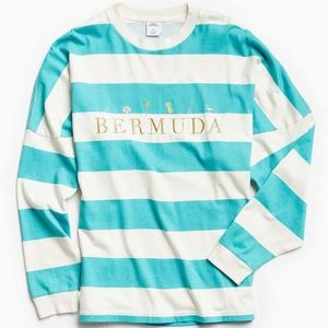 NEW WITH TAGS Urban Outfitters Bermuda Long Sleeve